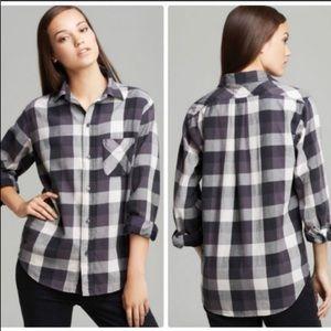 Current/Elliot prep school plaid greystone shirt 2